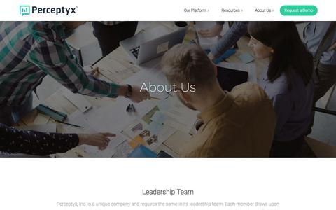 About Us | Perceptyx, Inc.