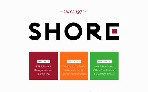 Screenshot of Home Page shoretotaloffice.com - Shore Total Office - captured May 30, 2019