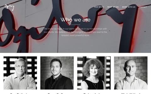 Screenshot of Team Page ogilvy.co.nz - Who we are - Ogilvy & Mather New Zealand - captured Dec. 27, 2017