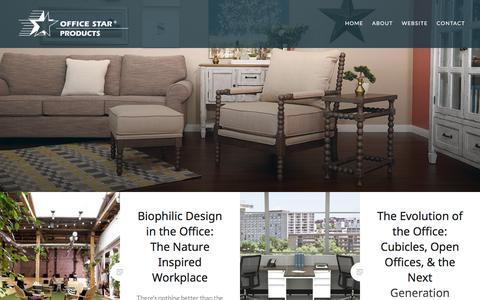 Screenshot of Blog officestar.net captured June 18, 2017