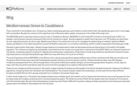 Screenshot of Blog bcplatforms.com - Blog – Software platforms for next generation sequencing – BC Platforms - captured Nov. 2, 2014