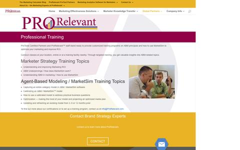 ProRelevant Training for Professional & Marketing Executives
