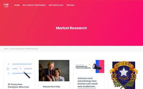 Screenshot of Case Studies Page pollfish.com - Market Research Archives - Online Survey Tool, Mobile App for Quick Survey - captured Jan. 27, 2019