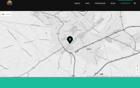 Screenshot of Contact Page comoyodsg.com - Contact - ✚ComoYoDsg - captured July 15, 2016