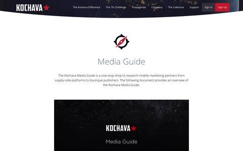 Media Guide - Kochava