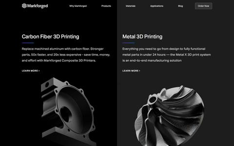 Products – Markforged