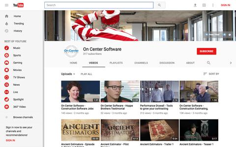 On Center Software - YouTube