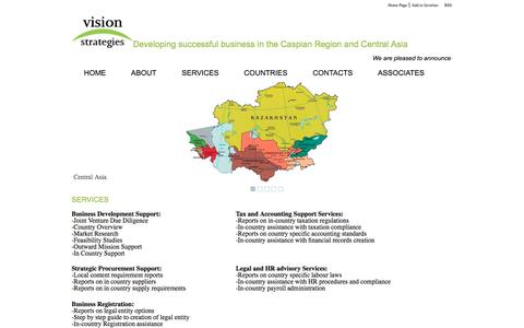 Screenshot of Services Page vstrategies.co.uk - Services » Vision Strategies - captured Oct. 1, 2014