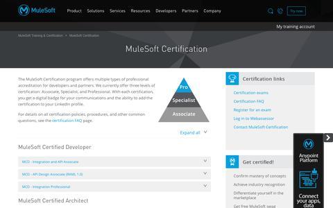 MuleSoft Certification - MuleSoft Training & Certification