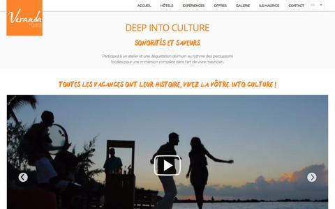Deep into culture – Veranda Resorts, Ile Maurice | Veranda