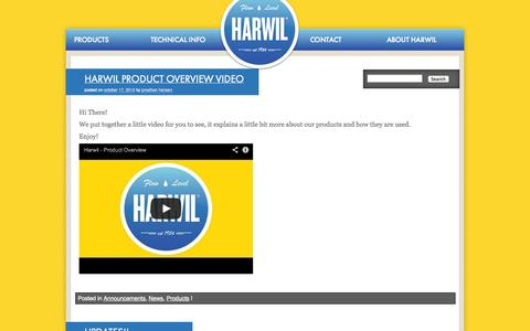 Screenshot of Press Page harwil.com - Latest News and Updates | Harwil Corporation - captured Oct. 2, 2014