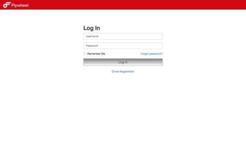 Screenshot of Login Page flywheel.com - Flywheel - Your Ride Is Here! - captured Sept. 26, 2018