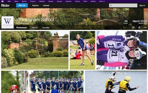 Screenshot of Flickr Page flickr.com - Flickr: WoldinghamSchool's Photostream - captured Oct. 25, 2014