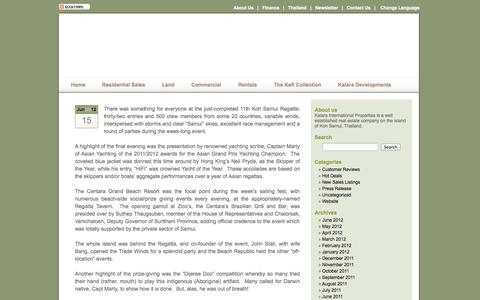 Screenshot of Blog kalaraco.com - kalaraco's Blog - captured Oct. 6, 2014