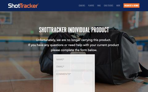 Screenshot of Support Page shottracker.com - Automatic Shooting Stats for Basketball Players | ShotTracker - captured Aug. 16, 2019