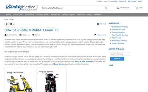Vitality Medical - Medical Supplies Blog