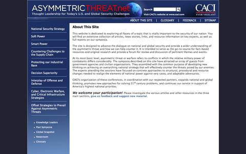 Screenshot of About Page asymmetricthreat.net - Asymmetric Threat - About - captured March 2, 2017