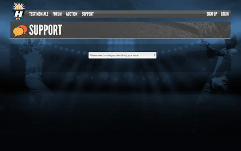 Screenshot of Contact Page hitwicket.com - Contact Support | Play Online Cricket Games | Hitwicket - captured Dec. 10, 2015