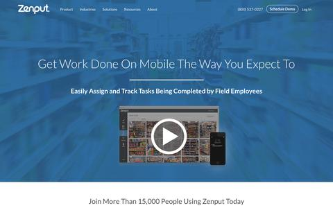 Mobile Workforce and Task Management | Zenput