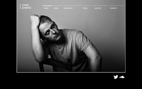 Screenshot of Home Page chris-jenkins.co.uk - Chris Jenkins - captured Feb. 21, 2018