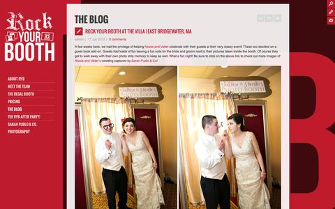 Screenshot of Blog rockyourbooth.com - Rock Your Booth: Photo and Video Booths  » The Blog - captured Sept. 30, 2014