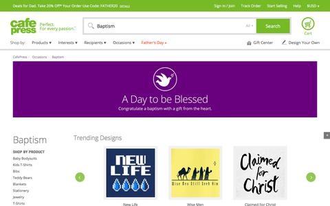 Baptism Gifts & Merchandise   Baptism Gift Ideas   Unique - CafePress