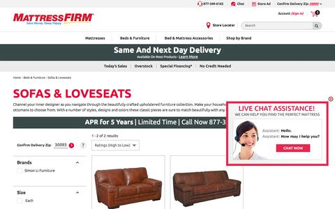 Sofas, Couches, & Loveseats with Sleeper Options