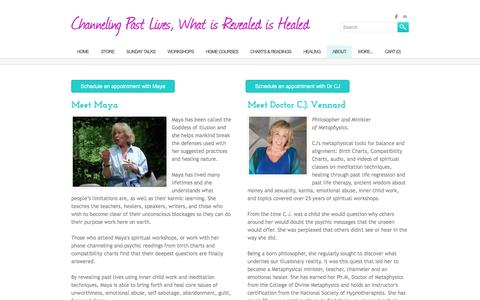 Screenshot of About Page channelingpastlives.com - Testimonials - Channeling Past Lives, What is Revealed is Healed - captured June 29, 2018