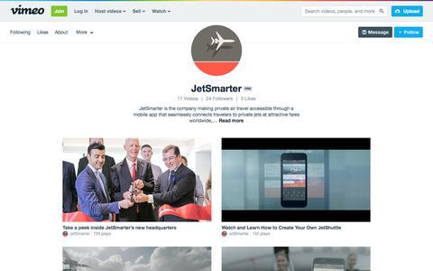 JetSmarter on Vimeo