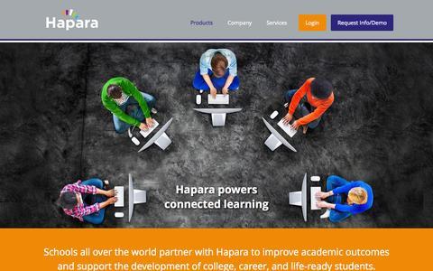 Screenshot of Case Studies Page hapara.com - Hapara ■ Making Learning Visible - captured July 3, 2015