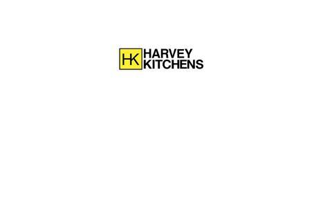 Screenshot of Home Page harveykitchens.co.uk - Maintenance Mode - captured July 19, 2017