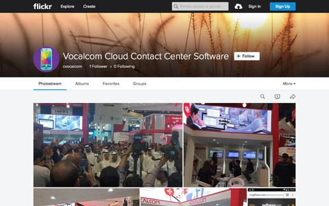 Screenshot of Flickr Page flickr.com - Vocalcom Cloud Contact Center Software | Flickr - Photo Sharing! - captured Sept. 30, 2015