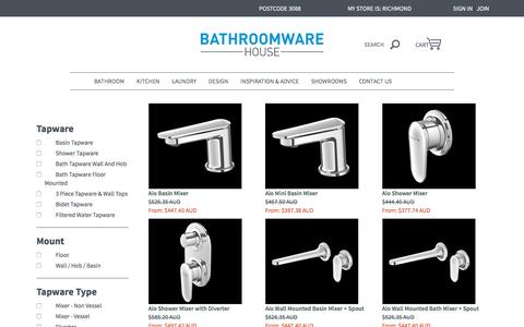Tapware, Bathroom Taps and Kitchen and Bathroom Tapware | Bathroomware House