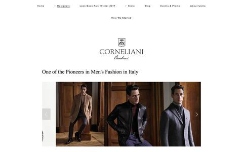 Corneliani — Uomo San Francisco | Designer European Luxury Menswear and Accessories