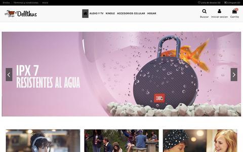 Screenshot of Home Page dellthus.com - Dellthus - captured Jan. 17, 2020