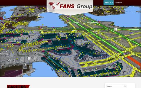 Screenshot of Jobs Page fans-group.aero - Careers | FANS Group - captured Sept. 30, 2014