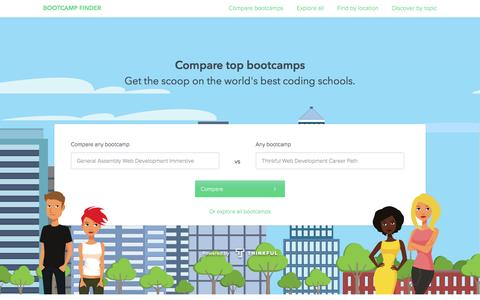 Bootcamp Finder: Compare Coding Schools