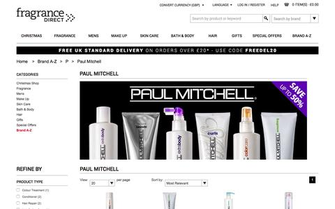 Paul Mitchell  | Fragrance Direct