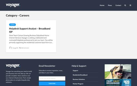 Careers – Voyager Blog
