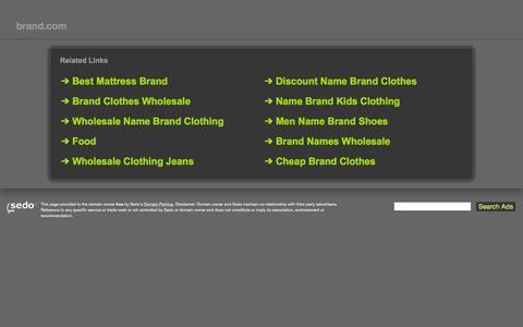Screenshot of Signup Page brand.com - brand.com-brand Resources and Information. - captured Aug. 5, 2015