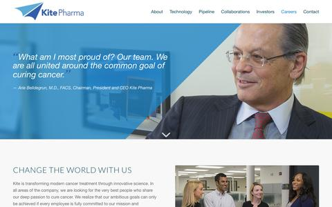 Careers - Kite Pharma