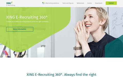 E-Recruiting with XING ✓ Find the best candidates!