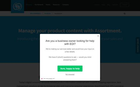 Catalog Software to Manage Product Content | SPS Commerce