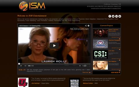 Screenshot of Privacy Page ismentertainment.com - ISM branded entertainment agency | Privacy Policy - captured Sept. 30, 2014
