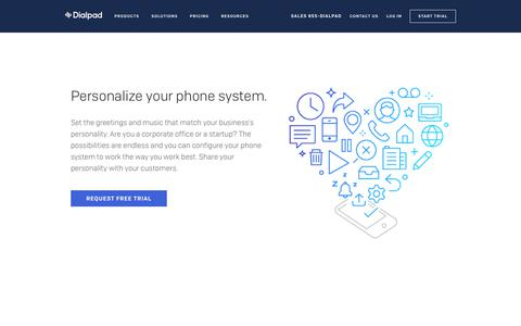 Customized Business Voicemail and Hold Music | Dialpad