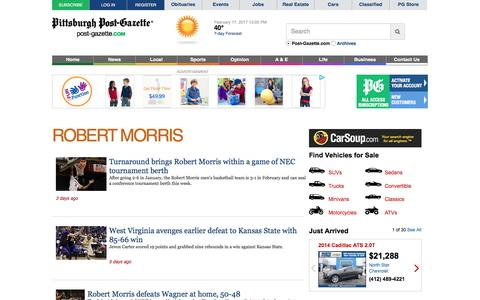 Robert Morris University I Post-Gazette