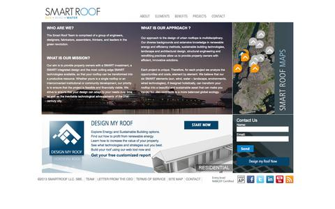 Screenshot of About Page smartroofnyc.com - Smart Roof Nyc |   ABOUT - captured Oct. 7, 2014