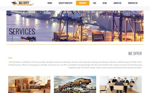 Packers and Movers Service in India- All City Packers and Movers®