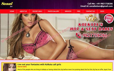 Screenshot of Blog sonalsen.com - Kolkata Escorts blogs   Kolkara Call Girls blog   Photo gallery Blogs - captured Nov. 1, 2018