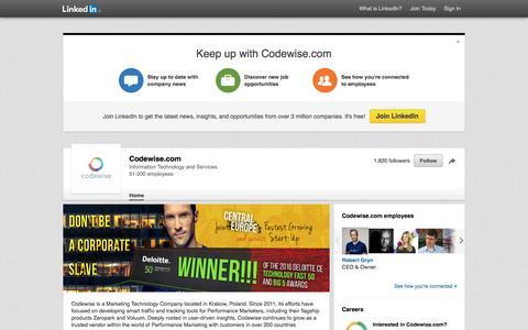 Codewise.com   LinkedIn